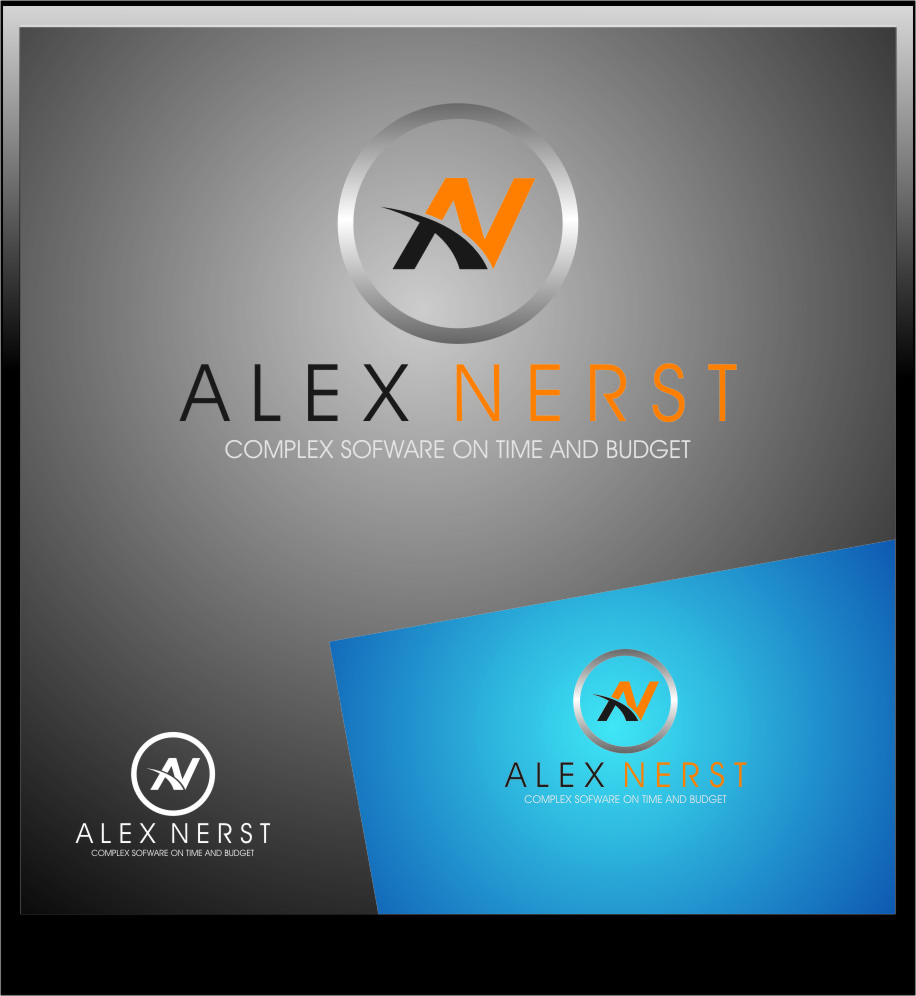 Logo Design by RasYa Muhammad Athaya - Entry No. 26 in the Logo Design Contest Artistic Logo Design for Alex Nerst.