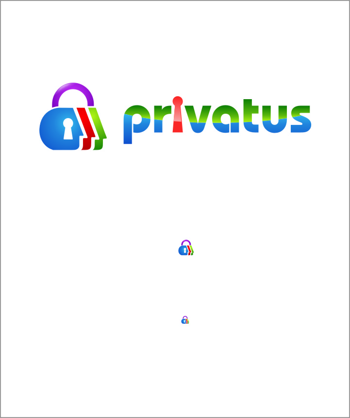 Logo Design by RoSyid Rono-Rene On Java - Entry No. 262 in the Logo Design Contest New Logo Design for privatus.