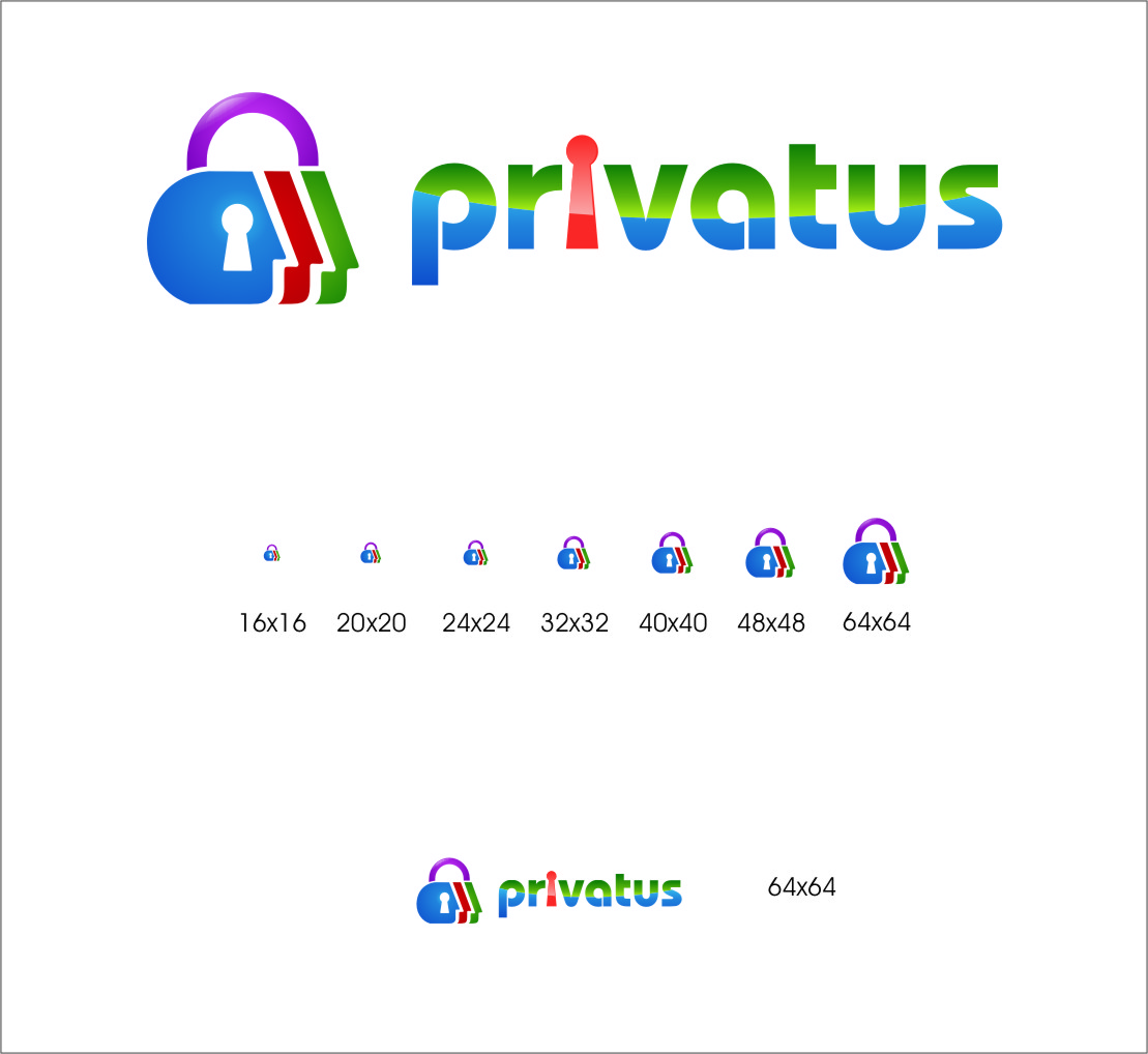 Logo Design by RasYa Muhammad Athaya - Entry No. 263 in the Logo Design Contest New Logo Design for privatus.