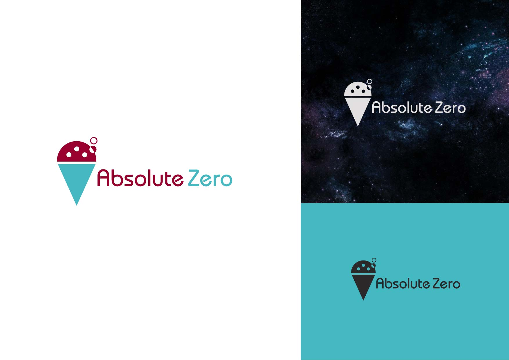 Logo Design by Osi Indra - Entry No. 9 in the Logo Design Contest Imaginative Logo Design for Absolute Zero.