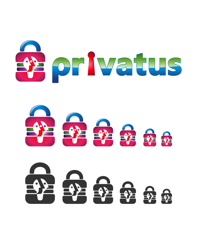 Logo Design by graphicleaf - Entry No. 266 in the Logo Design Contest New Logo Design for privatus.