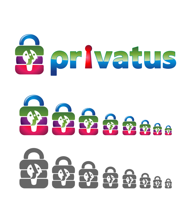 Logo Design by graphicleaf - Entry No. 268 in the Logo Design Contest New Logo Design for privatus.