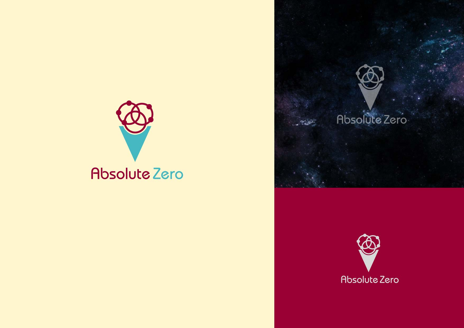 Logo Design by Osi Indra - Entry No. 12 in the Logo Design Contest Imaginative Logo Design for Absolute Zero.
