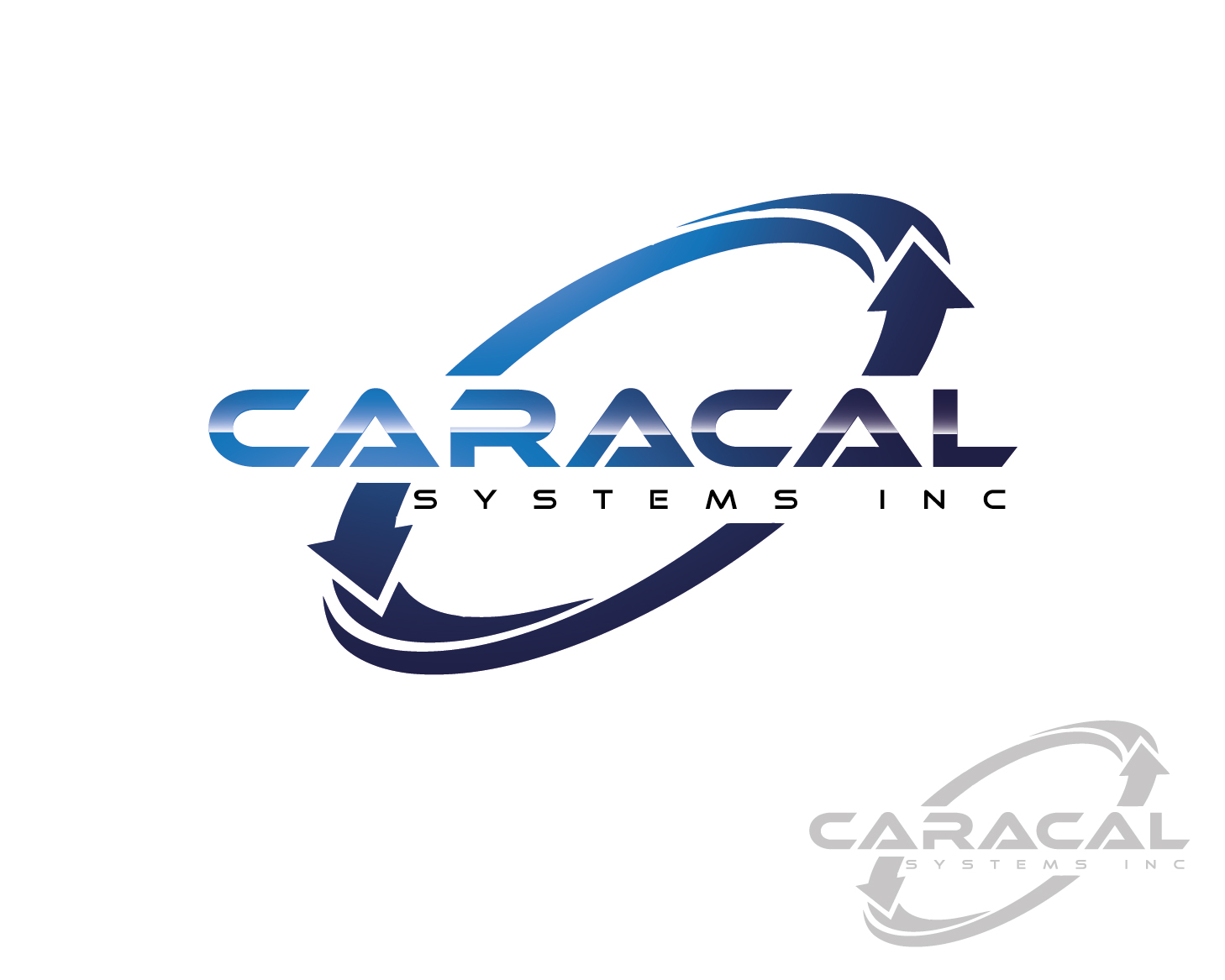 Logo Design by VENTSISLAV KOVACHEV - Entry No. 8 in the Logo Design Contest Inspiring Logo Design for Caracal Systems Inc..