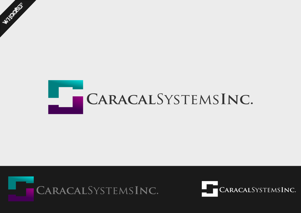 Logo Design by whoosef - Entry No. 12 in the Logo Design Contest Inspiring Logo Design for Caracal Systems Inc..