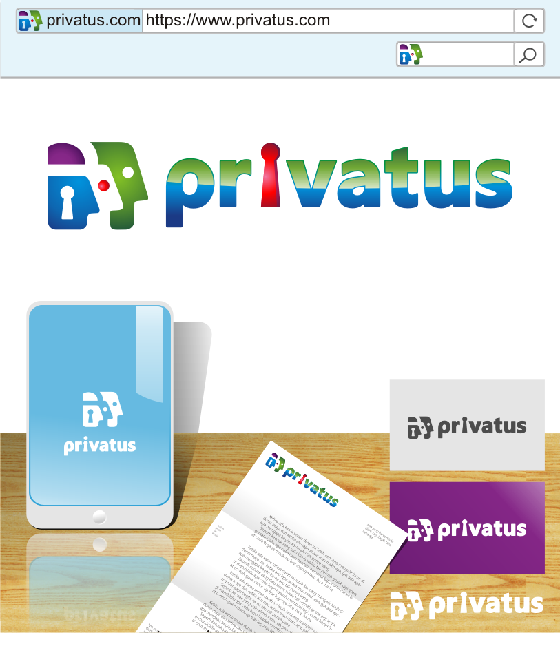 Logo Design by graphicleaf - Entry No. 272 in the Logo Design Contest New Logo Design for privatus.