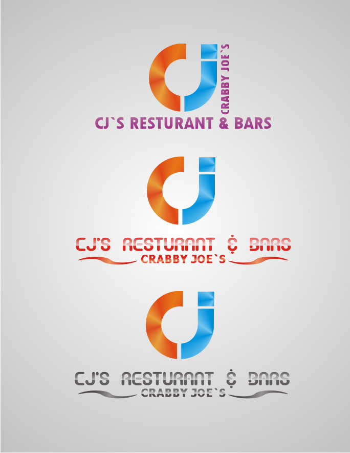 Logo Design by Shaid Waid - Entry No. 48 in the Logo Design Contest Inspiring Logo Design for Cj's.