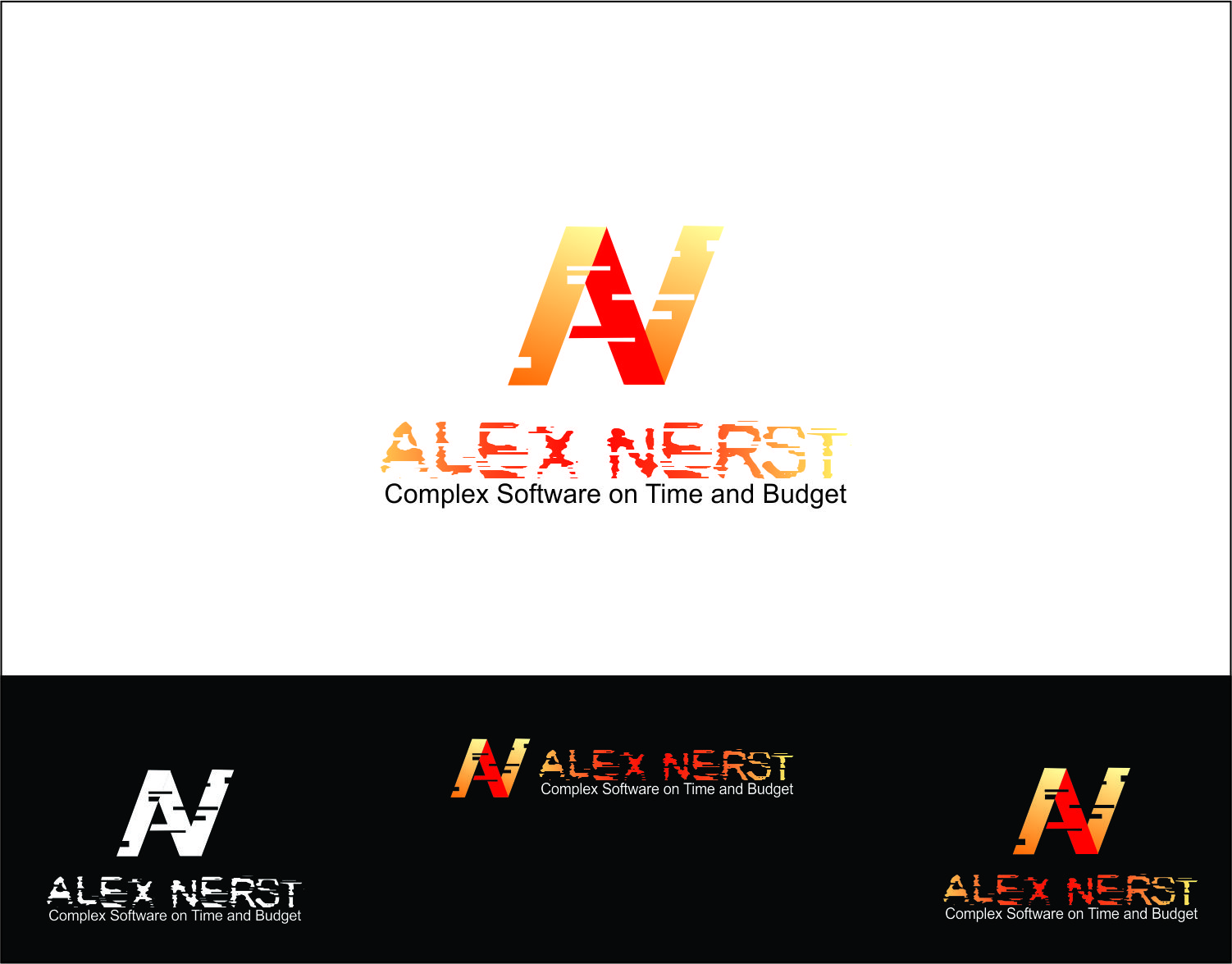 Logo Design by Agus Martoyo - Entry No. 30 in the Logo Design Contest Artistic Logo Design for Alex Nerst.