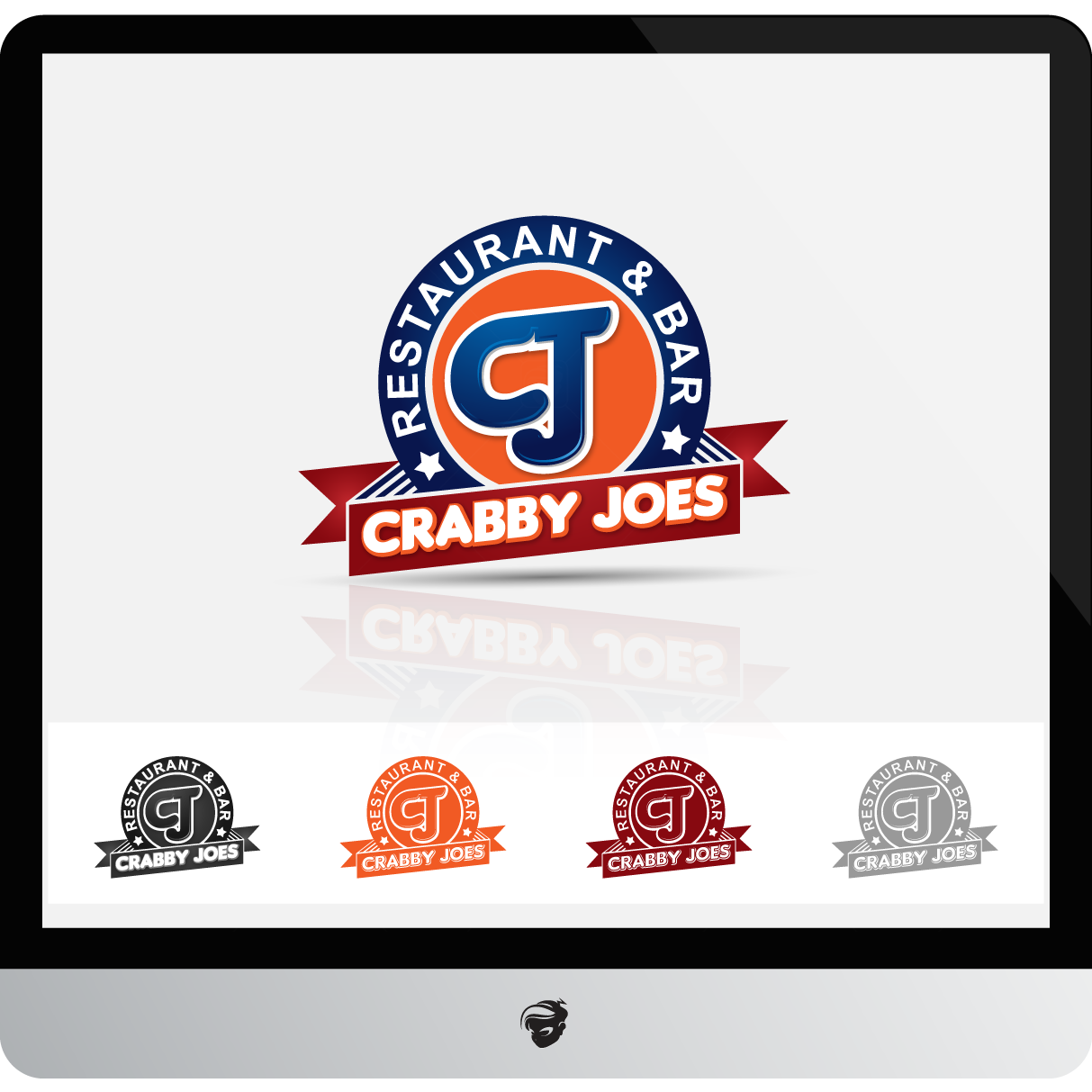 Logo Design by zesthar - Entry No. 55 in the Logo Design Contest Inspiring Logo Design for Cj's.