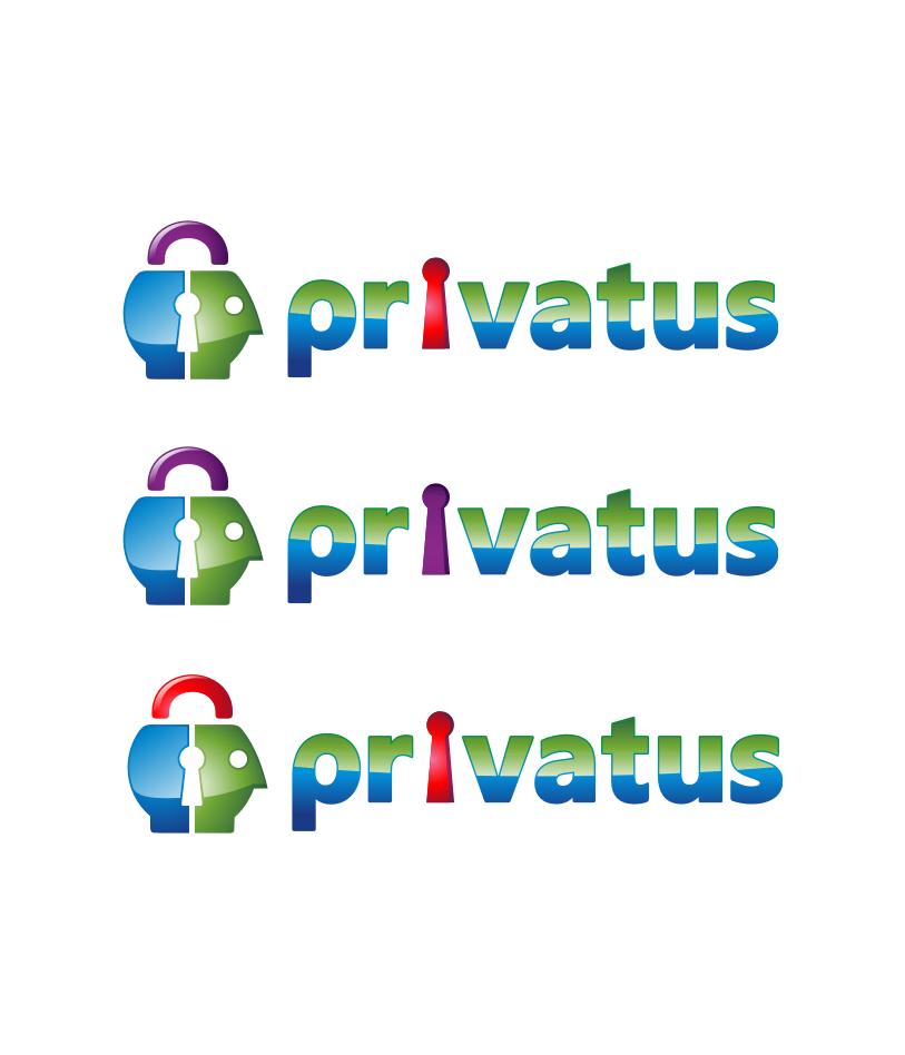 Logo Design by Muhammad Nasrul chasib - Entry No. 277 in the Logo Design Contest New Logo Design for privatus.