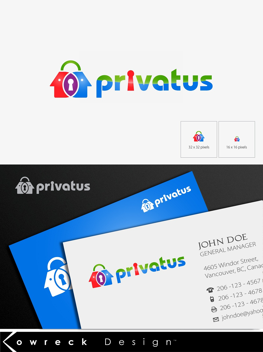 Logo Design by kowreck - Entry No. 281 in the Logo Design Contest New Logo Design for privatus.