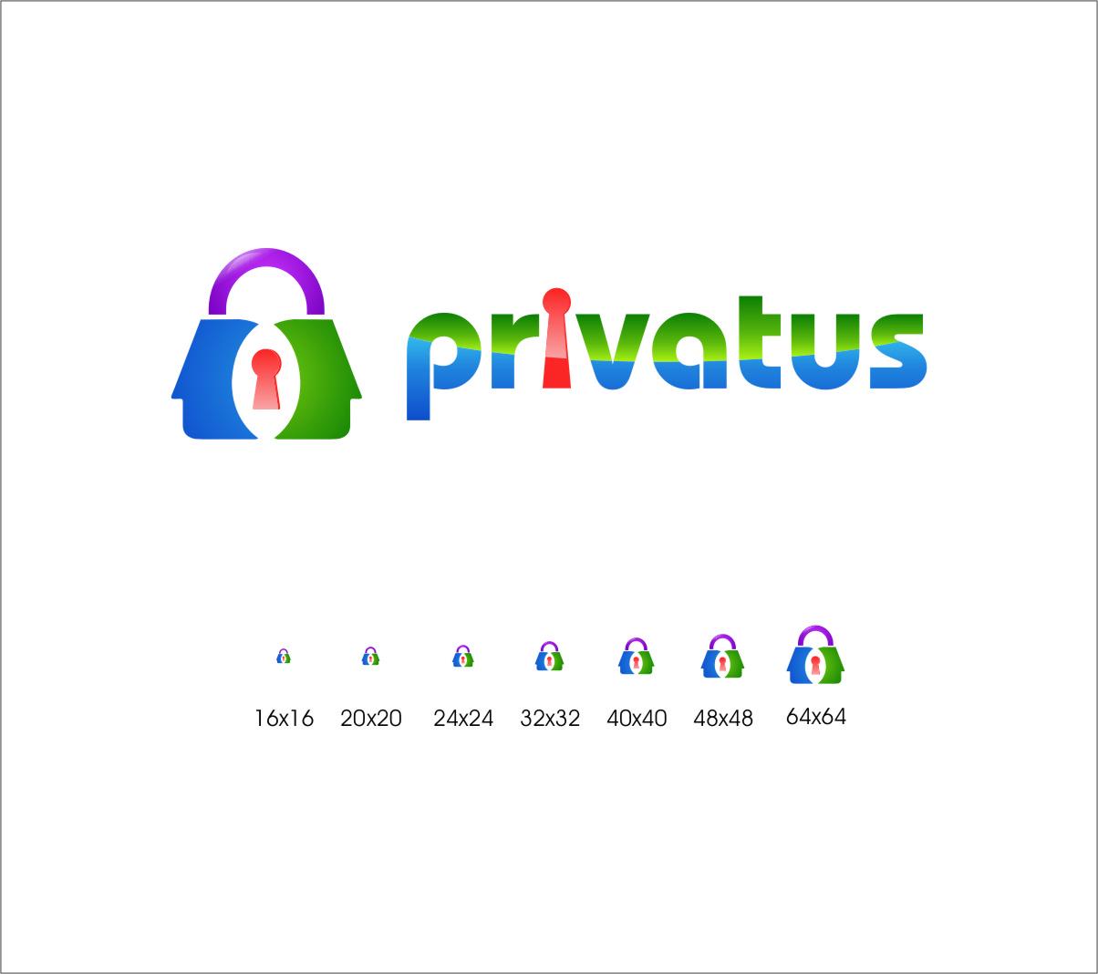 Logo Design by RasYa Muhammad Athaya - Entry No. 282 in the Logo Design Contest New Logo Design for privatus.