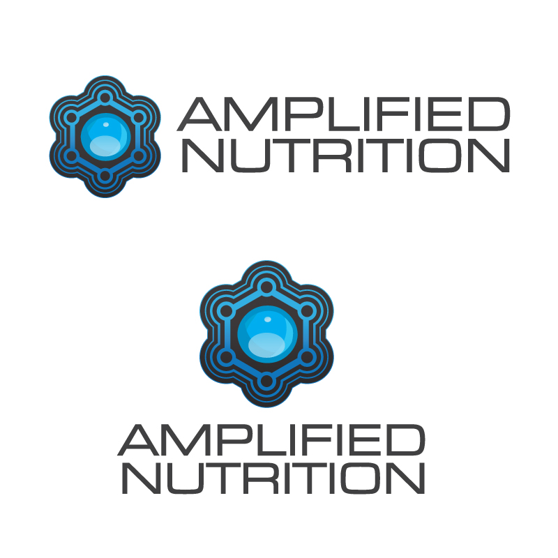 Logo Design by Alex-Alvarez - Entry No. 161 in the Logo Design Contest Amplified Nutrition.