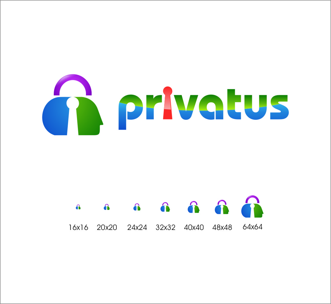 Logo Design by Ngepet_art - Entry No. 283 in the Logo Design Contest New Logo Design for privatus.
