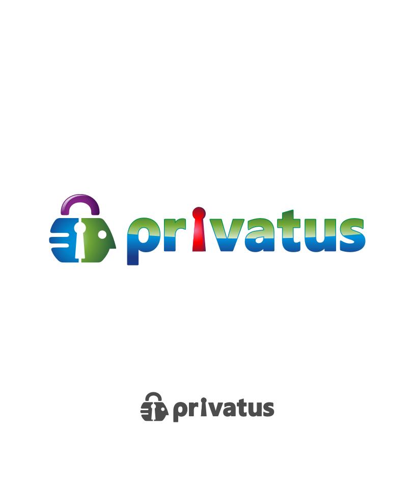 Logo Design by Muhammad Nasrul chasib - Entry No. 286 in the Logo Design Contest New Logo Design for privatus.