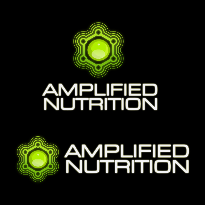 Logo Design by Alex-Alvarez - Entry No. 164 in the Logo Design Contest Amplified Nutrition.