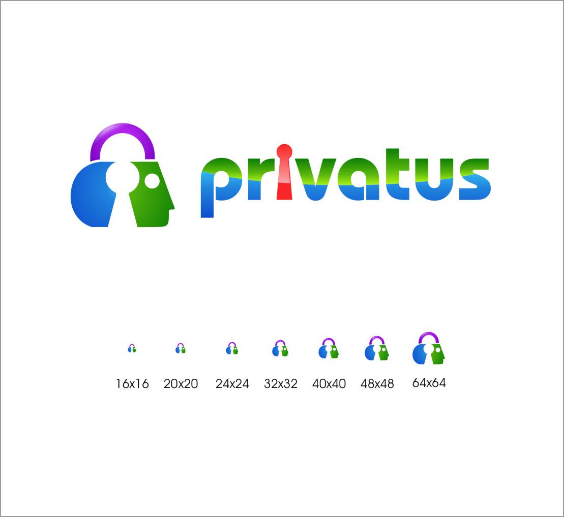 Logo Design by RasYa Muhammad Athaya - Entry No. 288 in the Logo Design Contest New Logo Design for privatus.