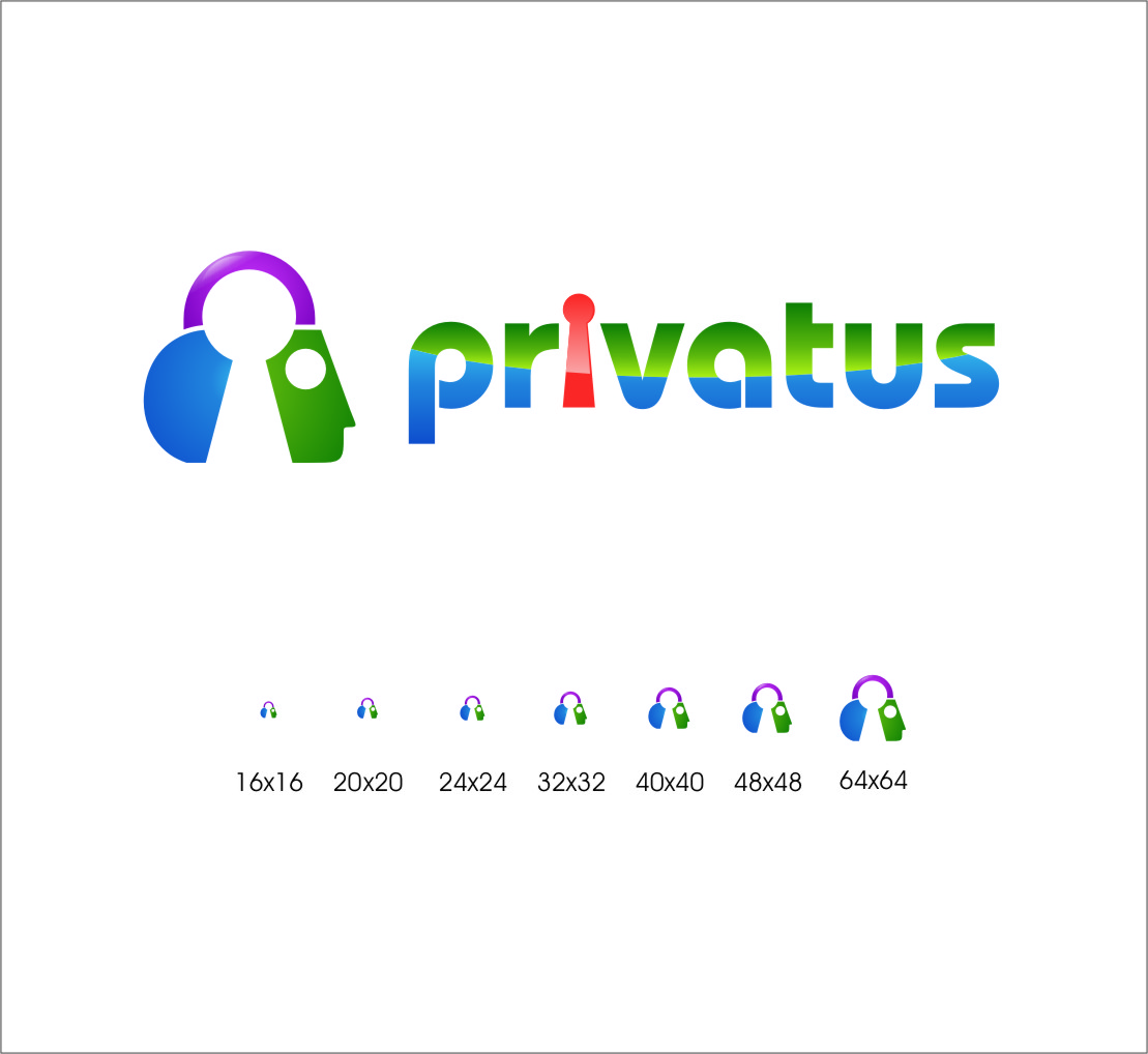 Logo Design by Ngepet_art - Entry No. 289 in the Logo Design Contest New Logo Design for privatus.