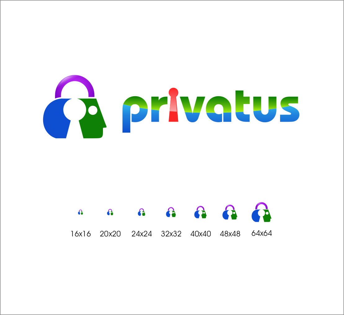 Logo Design by Ngepet_art - Entry No. 290 in the Logo Design Contest New Logo Design for privatus.