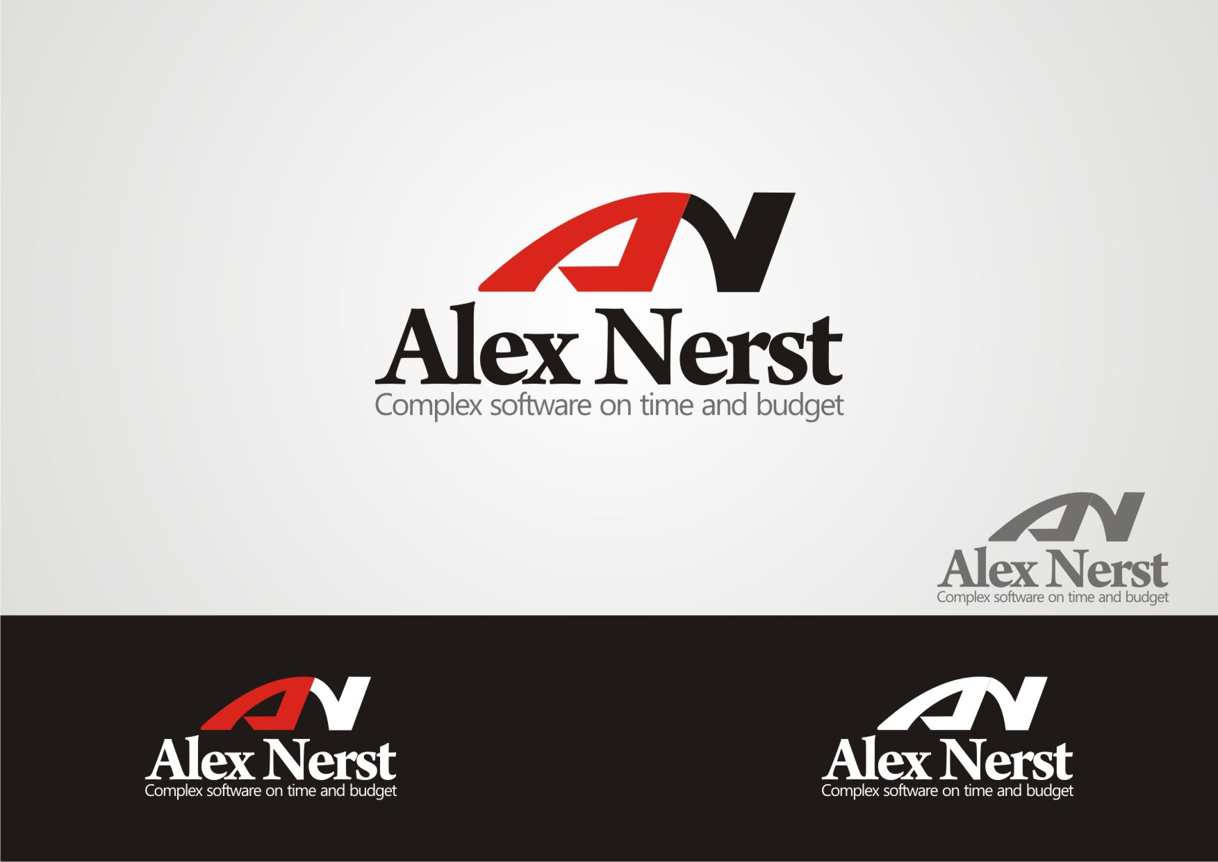 Logo Design by Private User - Entry No. 45 in the Logo Design Contest Artistic Logo Design for Alex Nerst.