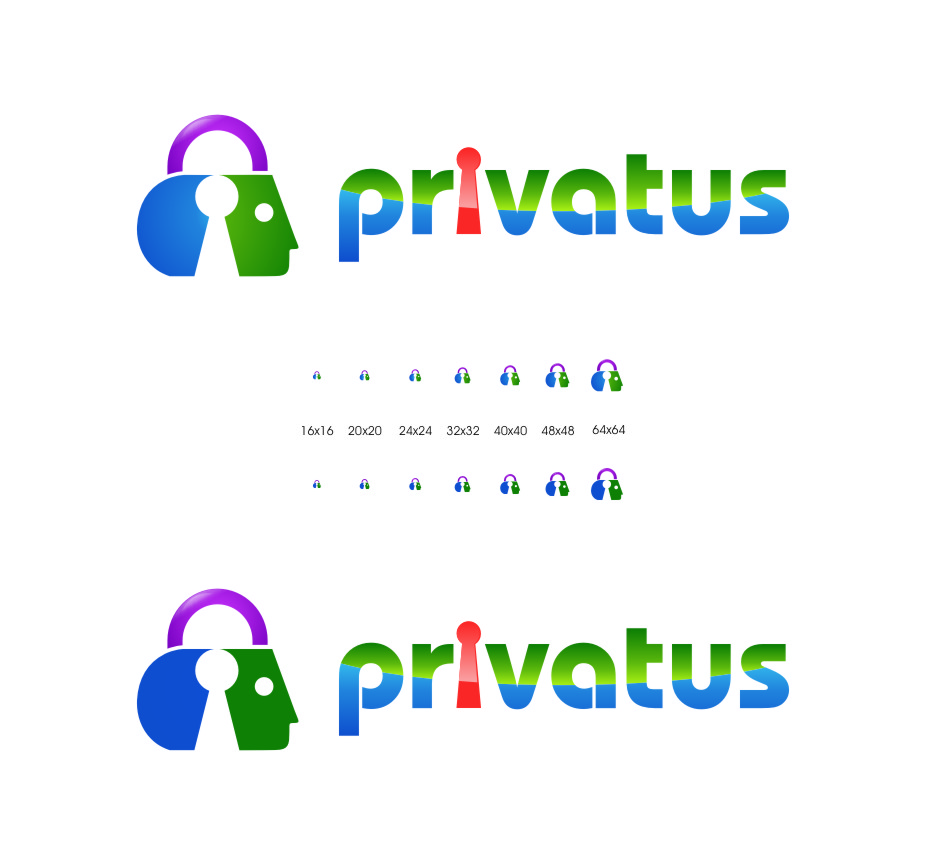 Logo Design by Ngepet_art - Entry No. 292 in the Logo Design Contest New Logo Design for privatus.