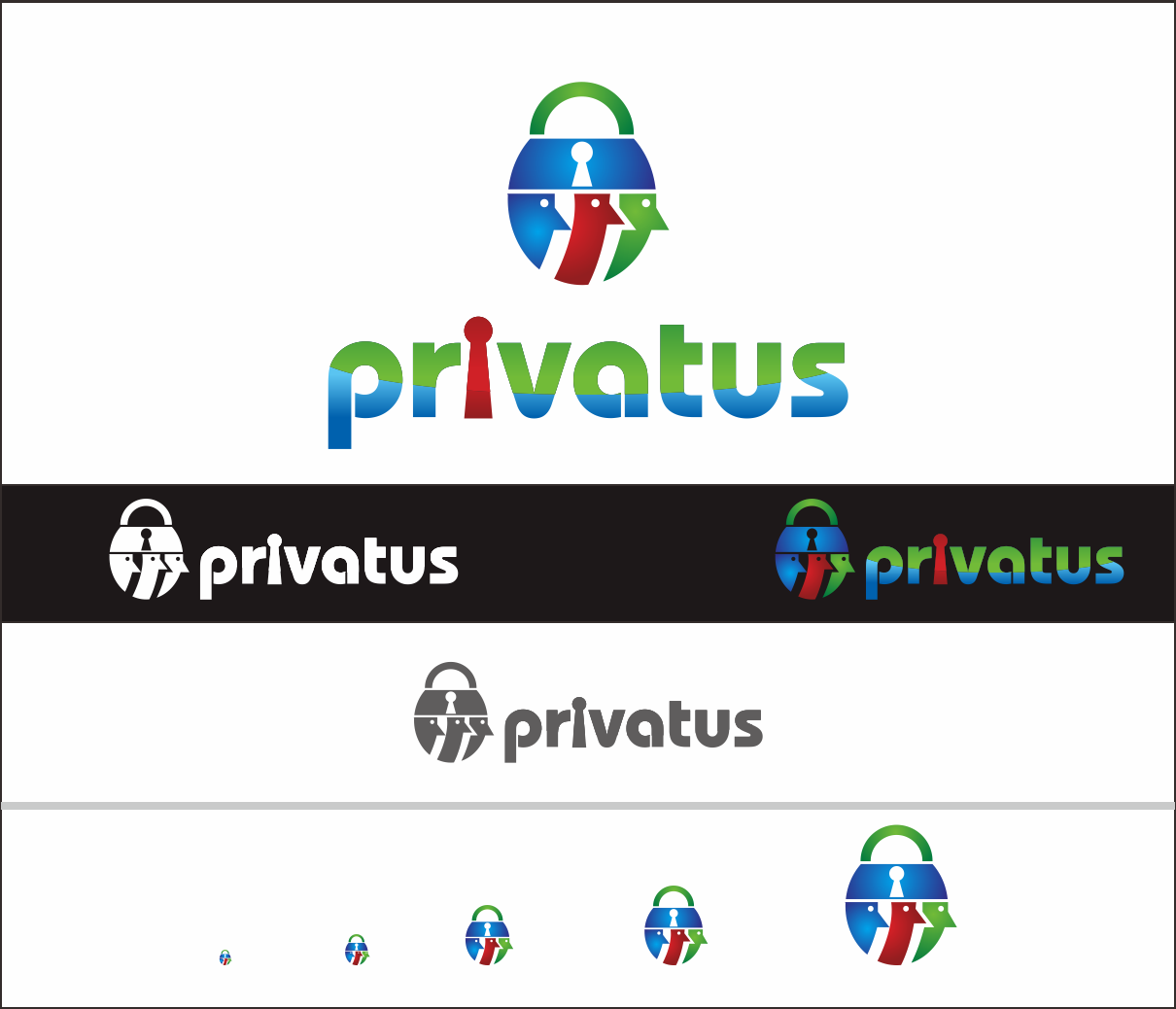 Logo Design by Armada Jamaluddin - Entry No. 293 in the Logo Design Contest New Logo Design for privatus.
