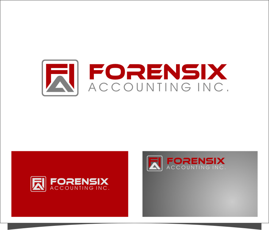 Logo Design by RoSyid Rono-Rene On Java - Entry No. 2 in the Logo Design Contest FORENSIX ACCOUNTING INC. Logo Design.