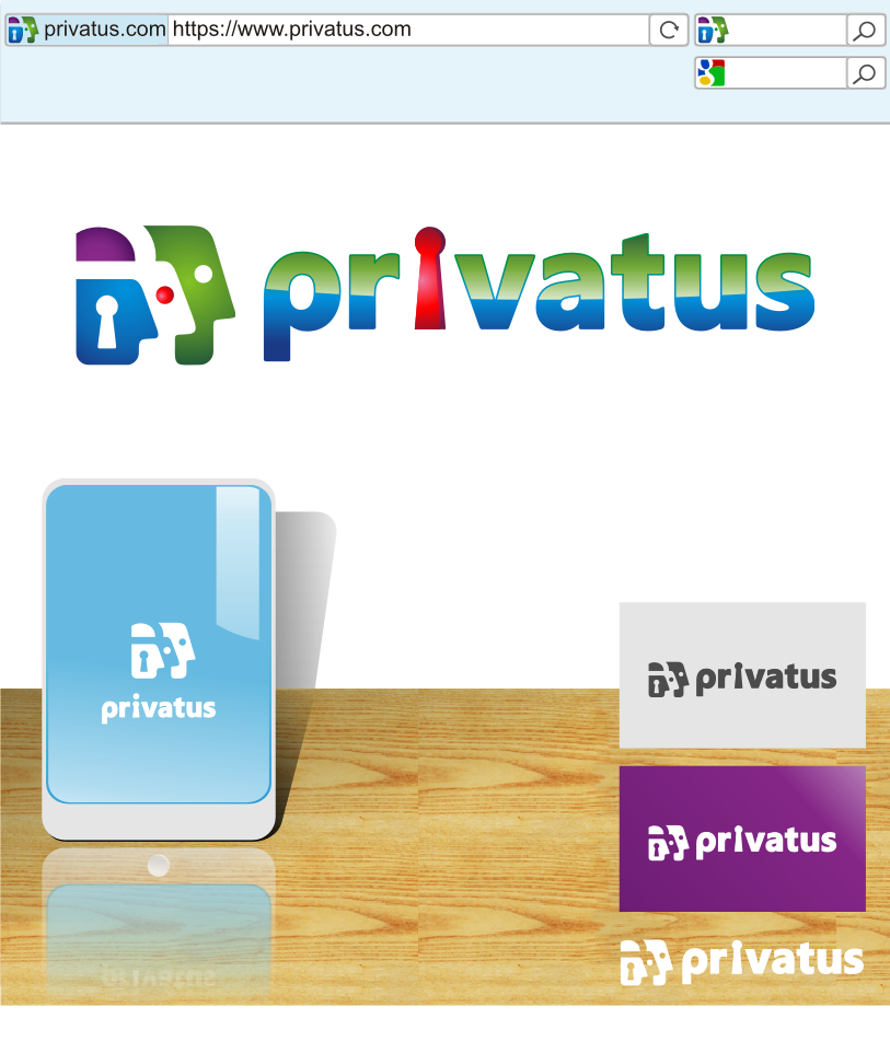 Logo Design by graphicleaf - Entry No. 296 in the Logo Design Contest New Logo Design for privatus.