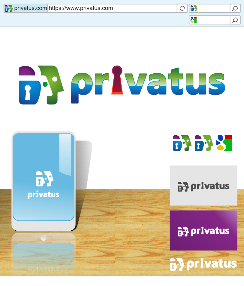 Logo Design by graphicleaf - Entry No. 297 in the Logo Design Contest New Logo Design for privatus.
