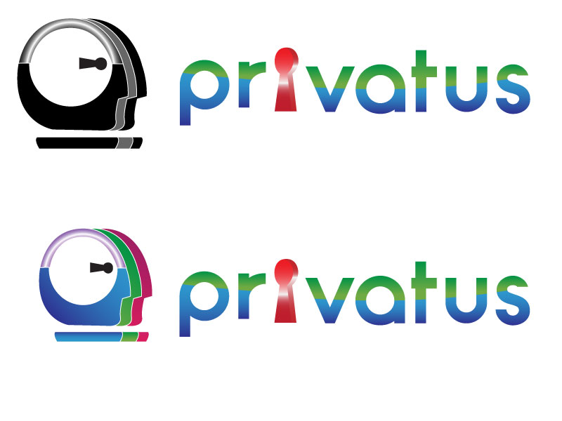 Logo Design by Jonathan Aclado - Entry No. 301 in the Logo Design Contest New Logo Design for privatus.