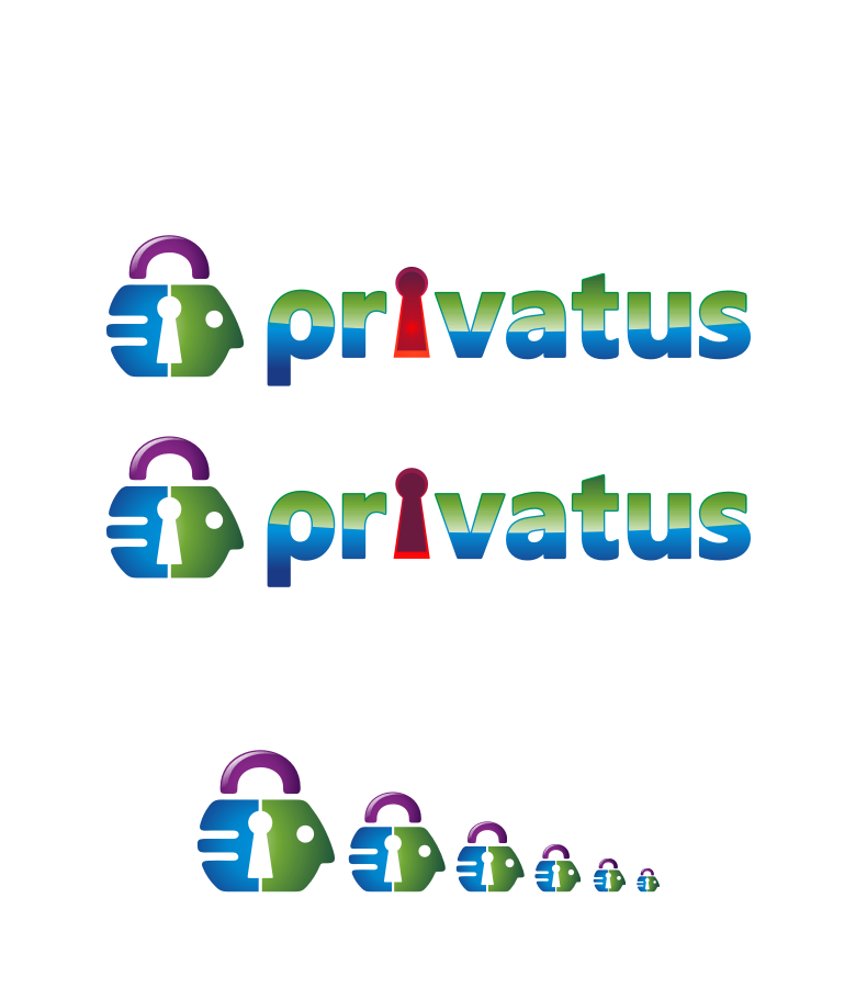 Logo Design by graphicleaf - Entry No. 302 in the Logo Design Contest New Logo Design for privatus.