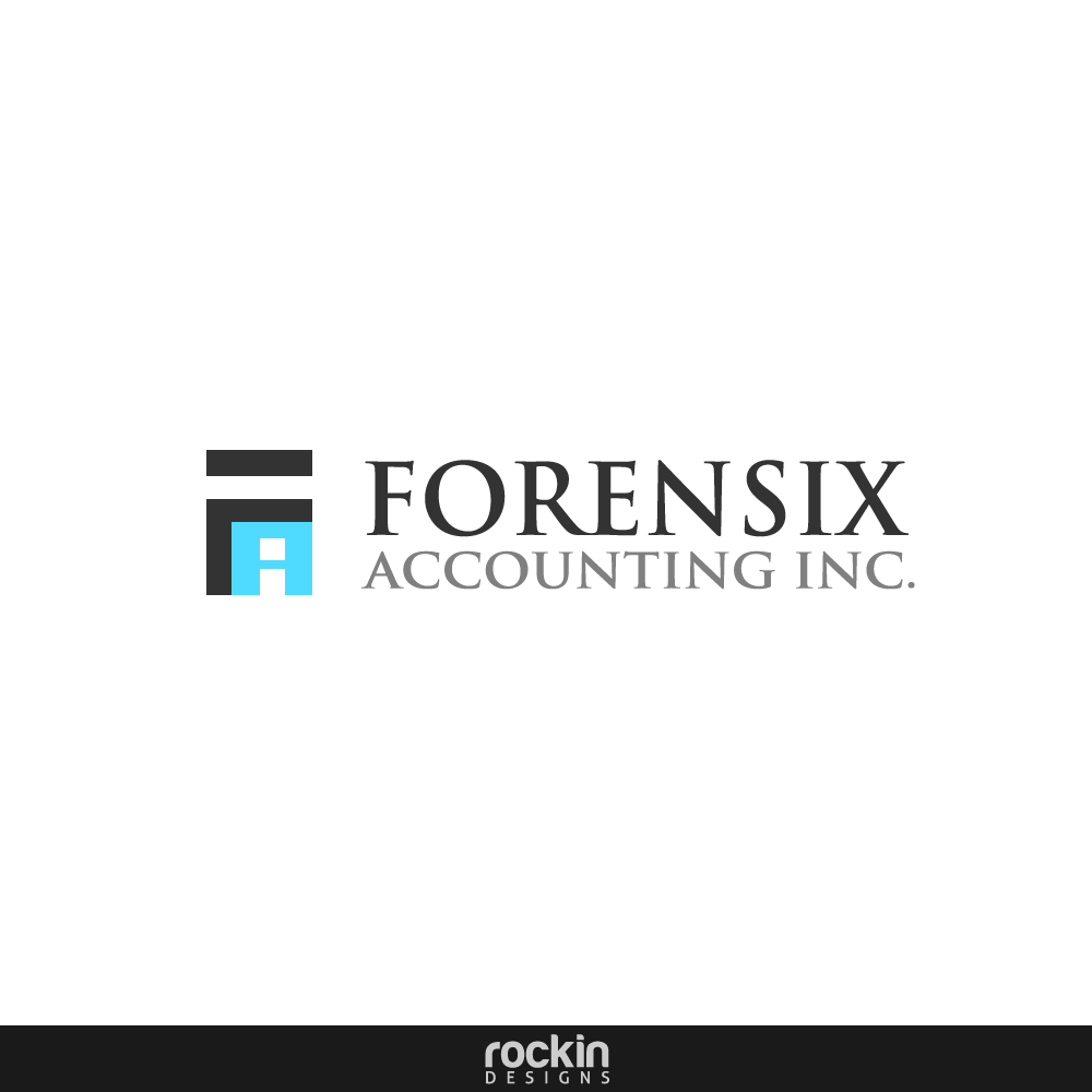 Logo Design by rockin - Entry No. 3 in the Logo Design Contest FORENSIX ACCOUNTING INC. Logo Design.