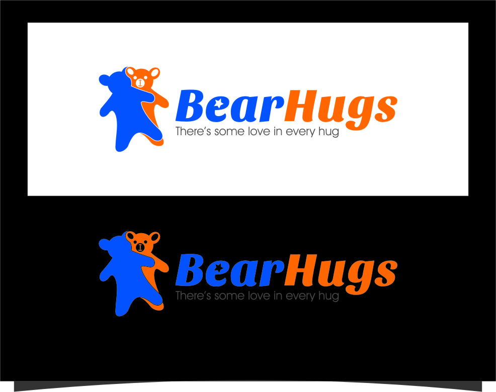 Logo Design by Ngepet_art - Entry No. 1 in the Logo Design Contest Inspiring Logo Design for BearHugs.