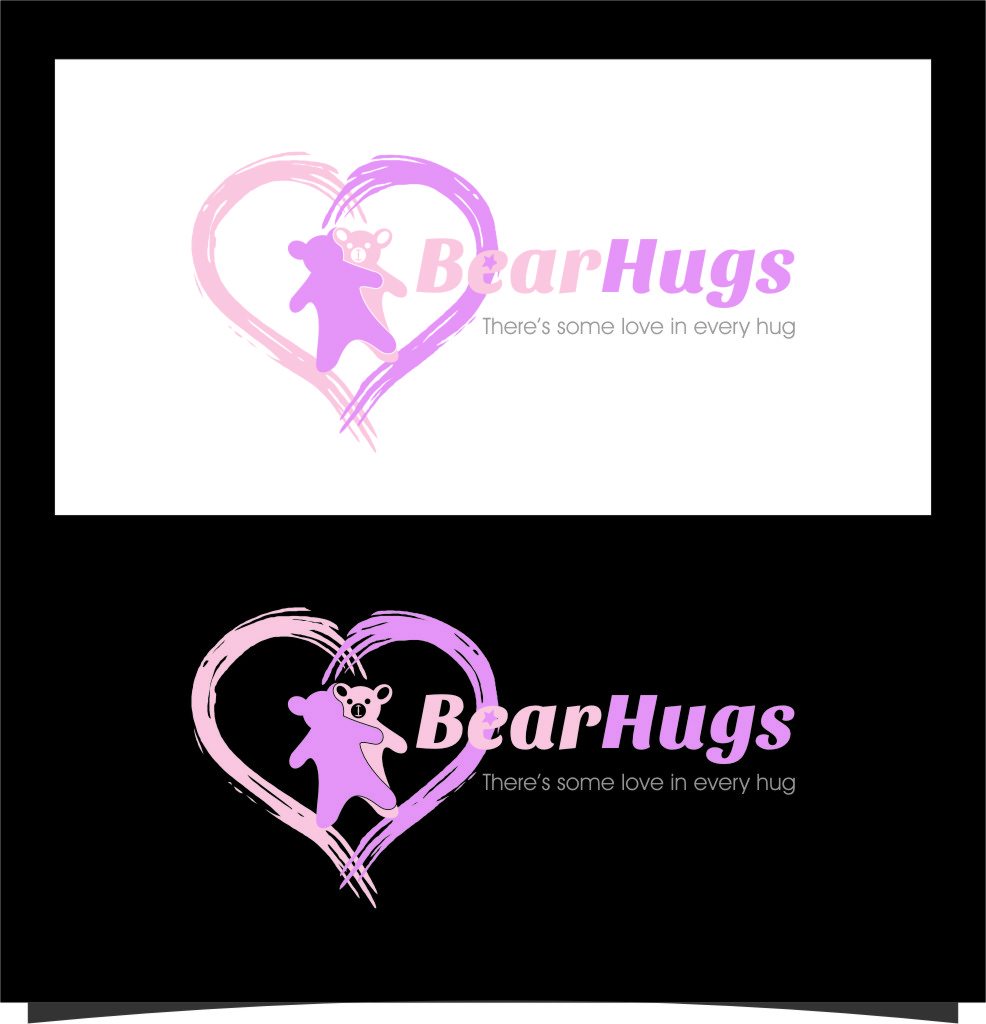 Logo Design by Ngepet_art - Entry No. 2 in the Logo Design Contest Inspiring Logo Design for BearHugs.
