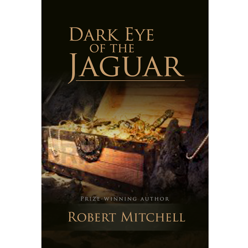 Book Cover Design by rockin - Entry No. 8 in the Book Cover Design Contest Imaginative Book Cover Design for Dark Eye of the Jaguar.