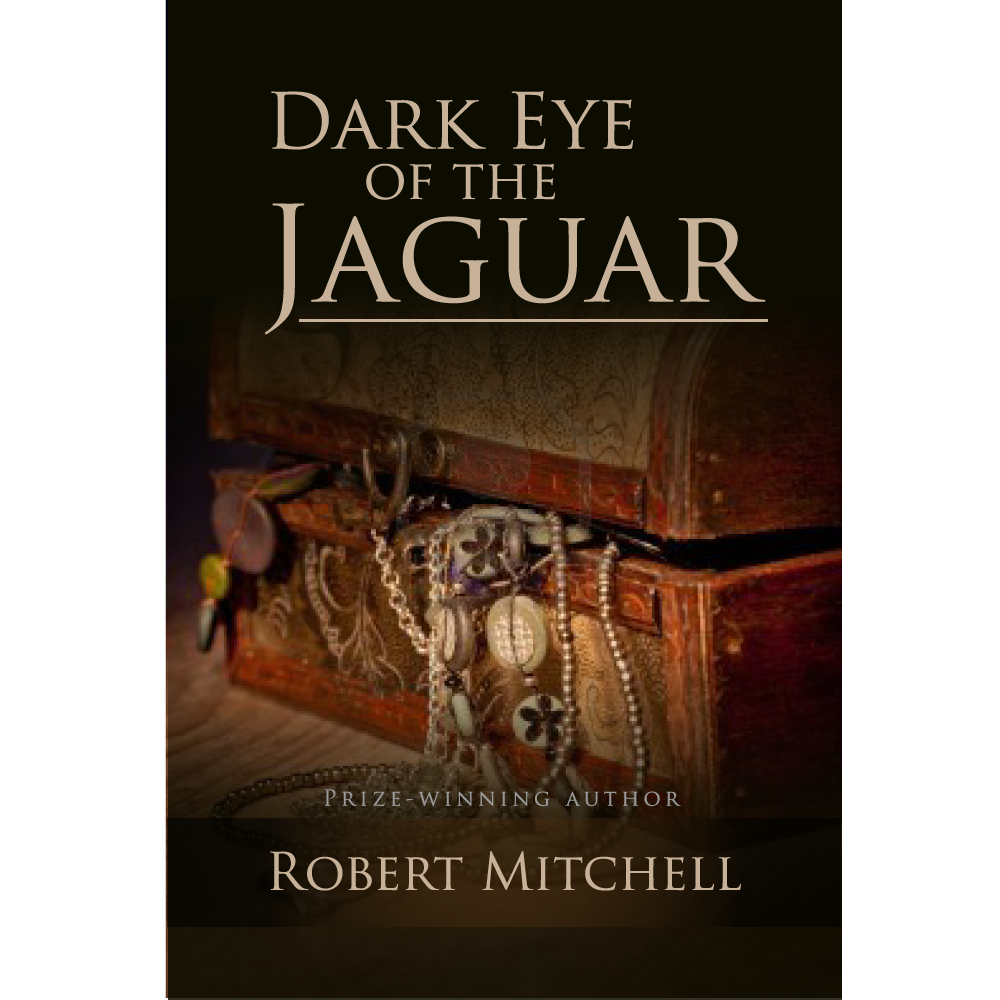 Book Cover Design by rockin - Entry No. 9 in the Book Cover Design Contest Imaginative Book Cover Design for Dark Eye of the Jaguar.