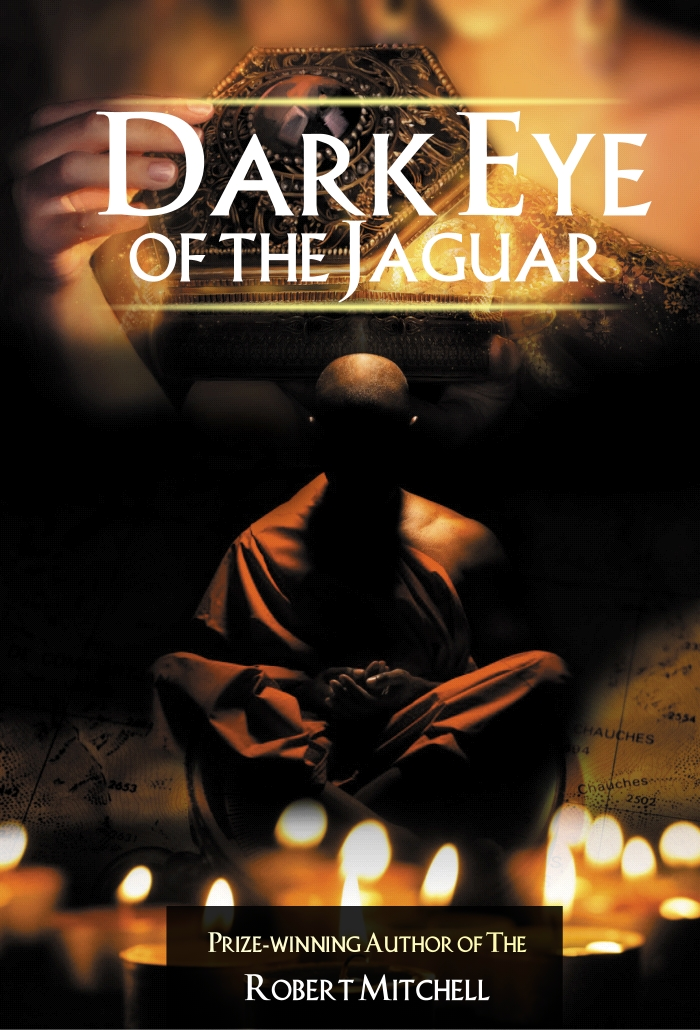 Book Cover Design by Private User - Entry No. 10 in the Book Cover Design Contest Imaginative Book Cover Design for Dark Eye of the Jaguar.