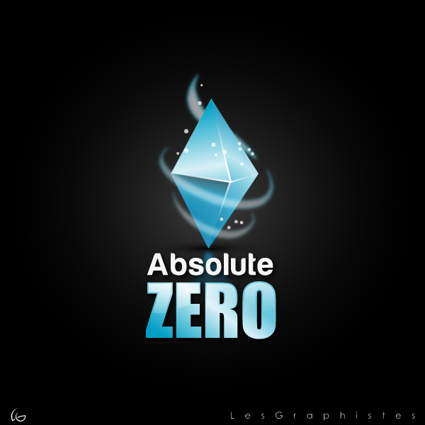 Logo Design by Les-Graphistes - Entry No. 25 in the Logo Design Contest Imaginative Logo Design for Absolute Zero.