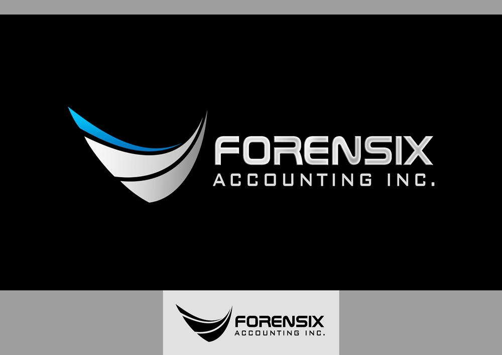 Logo Design by Respati Himawan - Entry No. 5 in the Logo Design Contest FORENSIX ACCOUNTING INC. Logo Design.