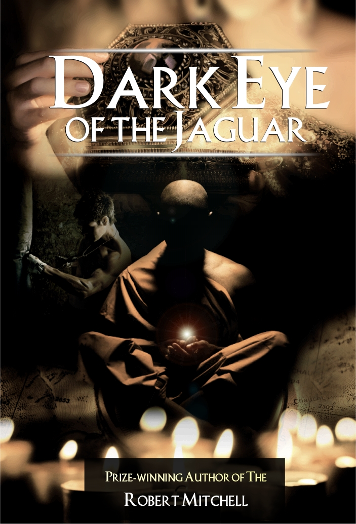 Book Cover Design by Private User - Entry No. 11 in the Book Cover Design Contest Imaginative Book Cover Design for Dark Eye of the Jaguar.