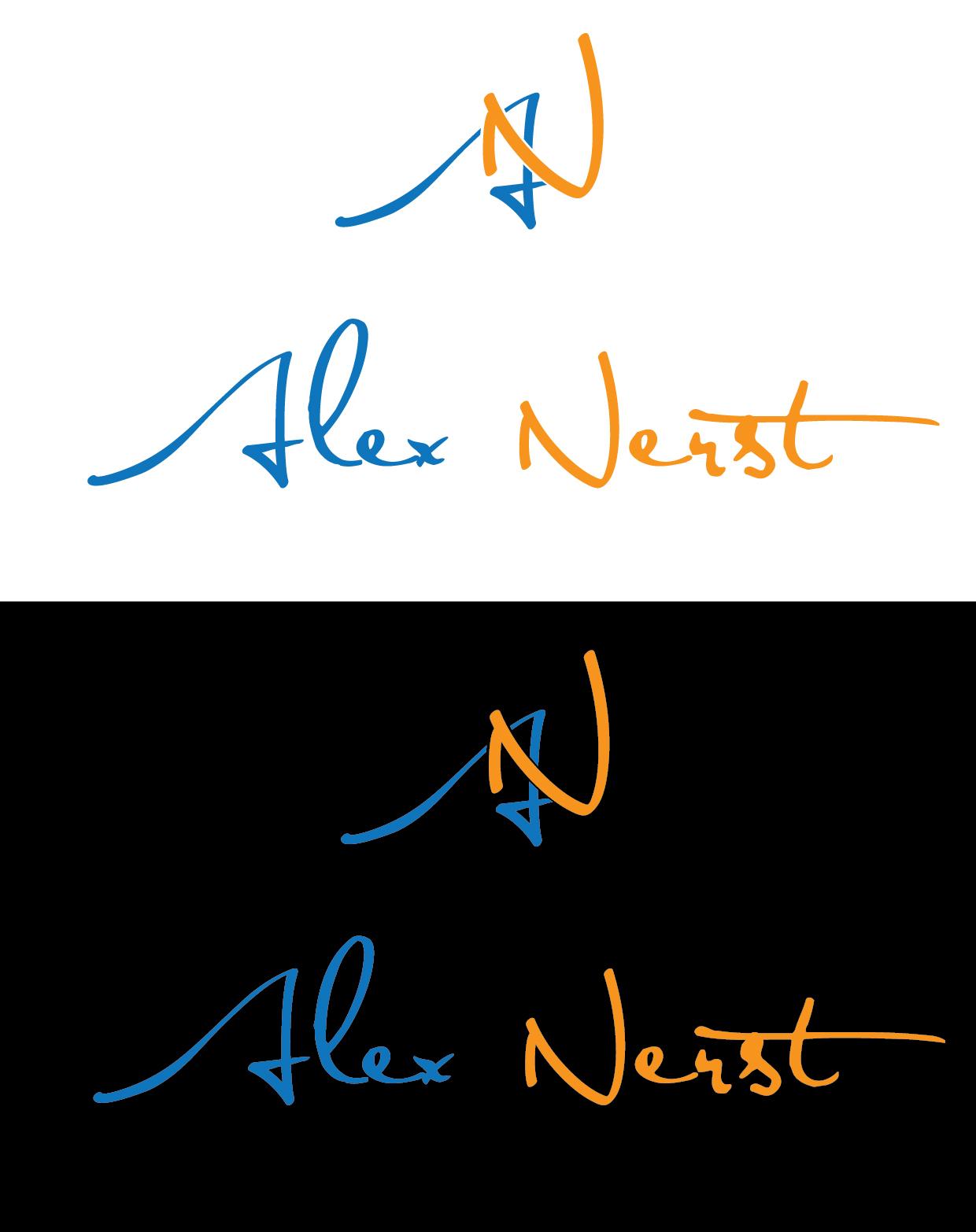 Logo Design by Petar Kovachev - Entry No. 49 in the Logo Design Contest Artistic Logo Design for Alex Nerst.