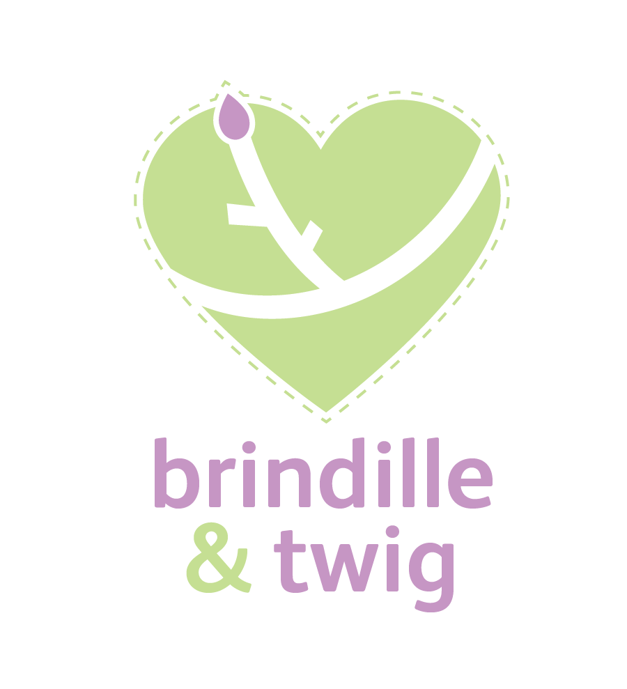 Logo Design by Christina Evans - Entry No. 1 in the Logo Design Contest Logo Design for Brindille & Twig.