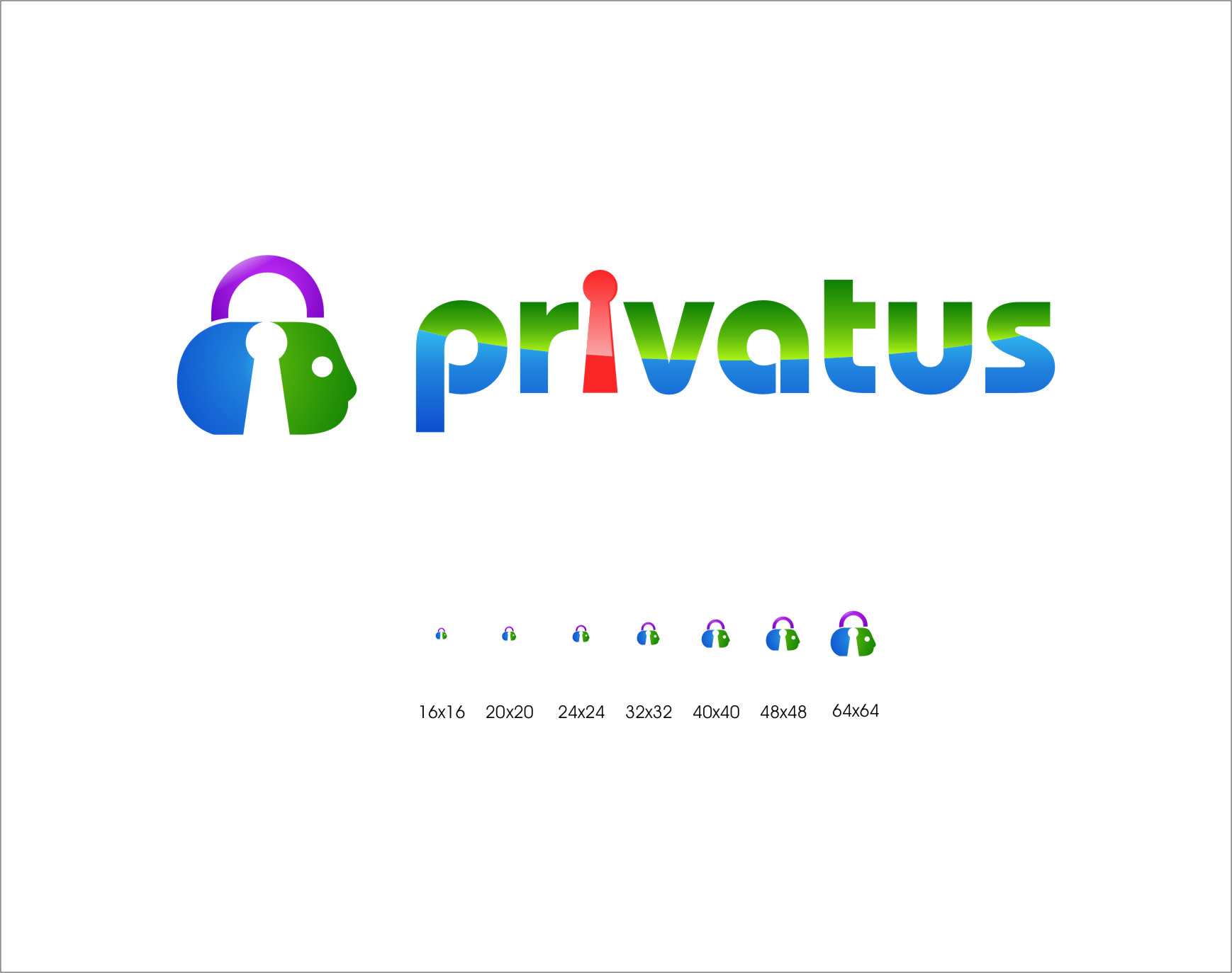 Logo Design by Ngepet_art - Entry No. 308 in the Logo Design Contest New Logo Design for privatus.