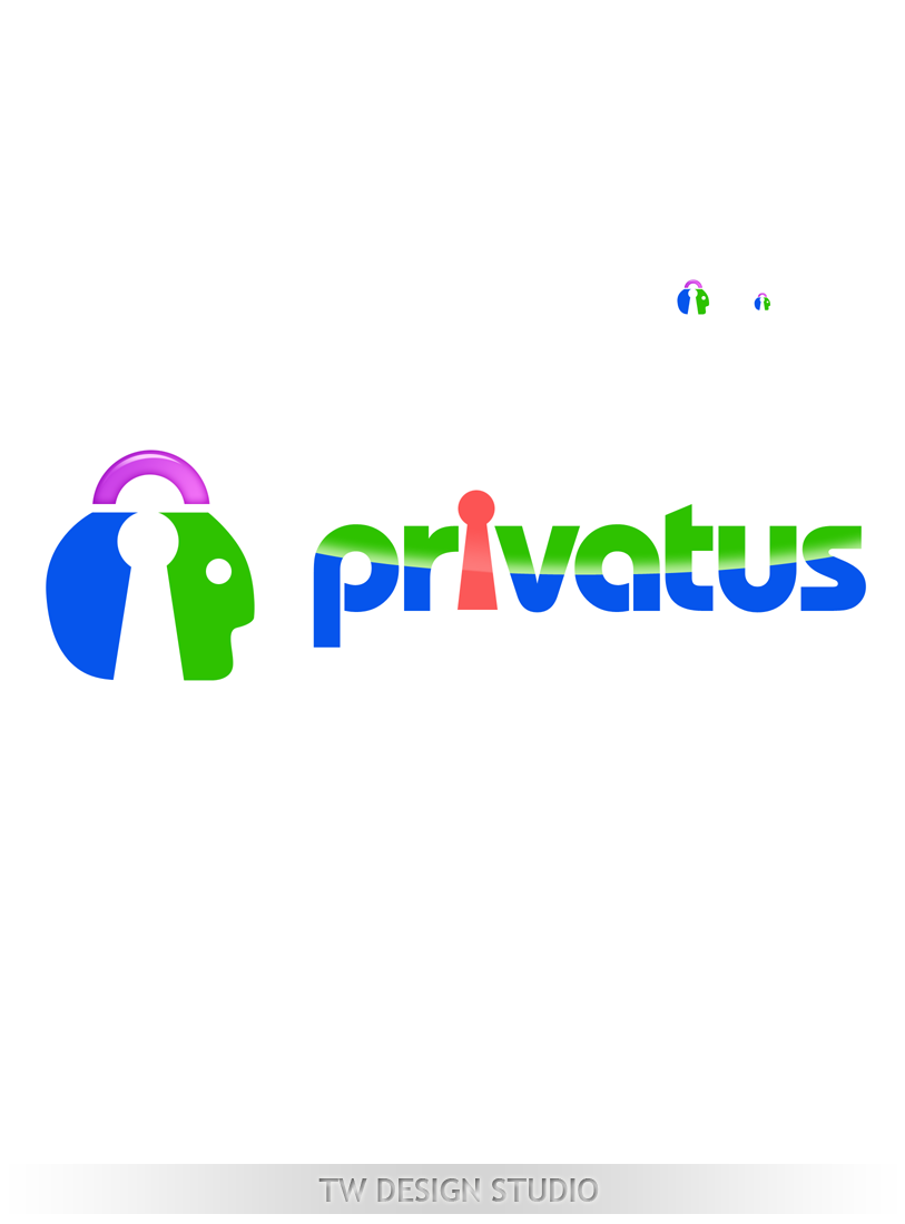 Logo Design by Robert Turla - Entry No. 309 in the Logo Design Contest New Logo Design for privatus.