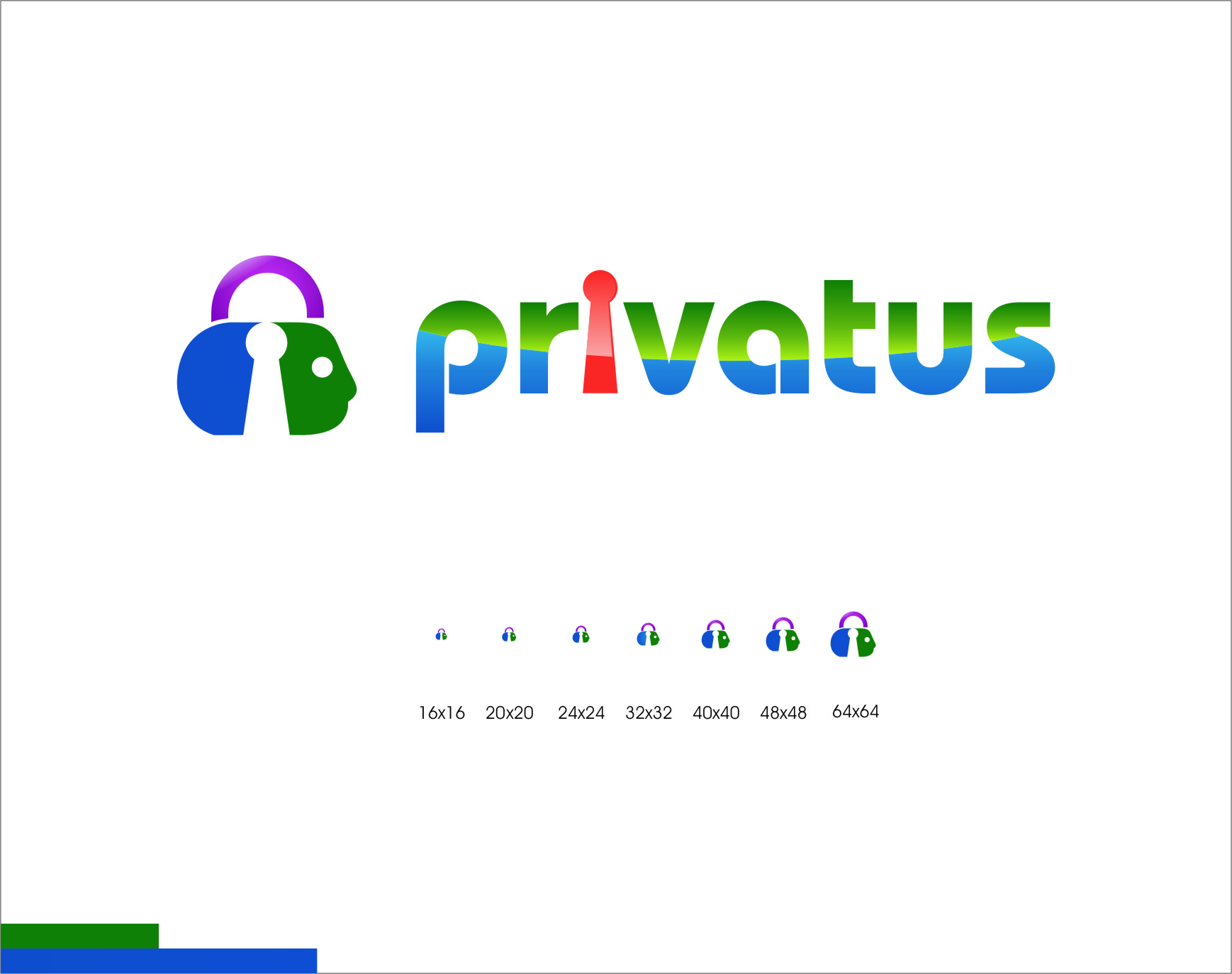 Logo Design by Ngepet_art - Entry No. 310 in the Logo Design Contest New Logo Design for privatus.