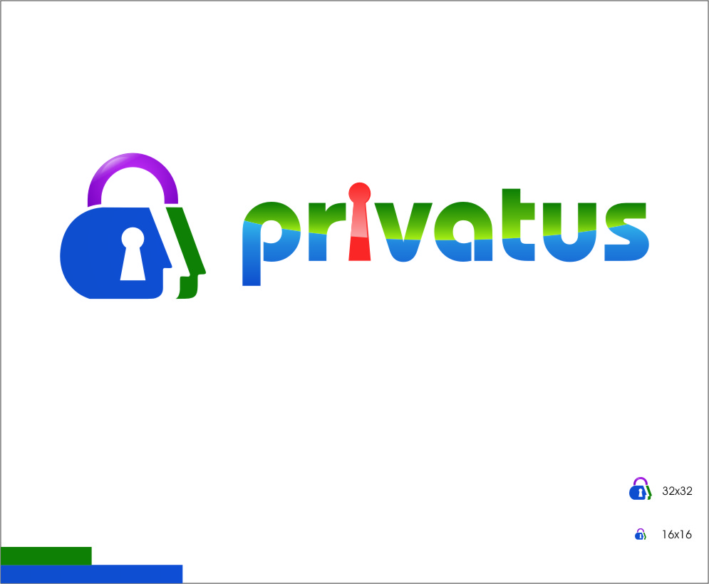 Logo Design by Ngepet_art - Entry No. 312 in the Logo Design Contest New Logo Design for privatus.