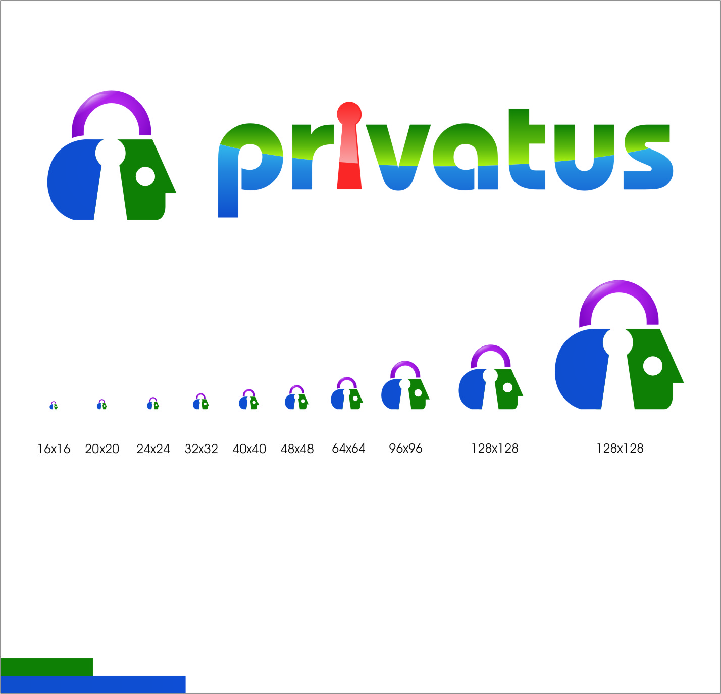 Logo Design by Ngepet_art - Entry No. 314 in the Logo Design Contest New Logo Design for privatus.