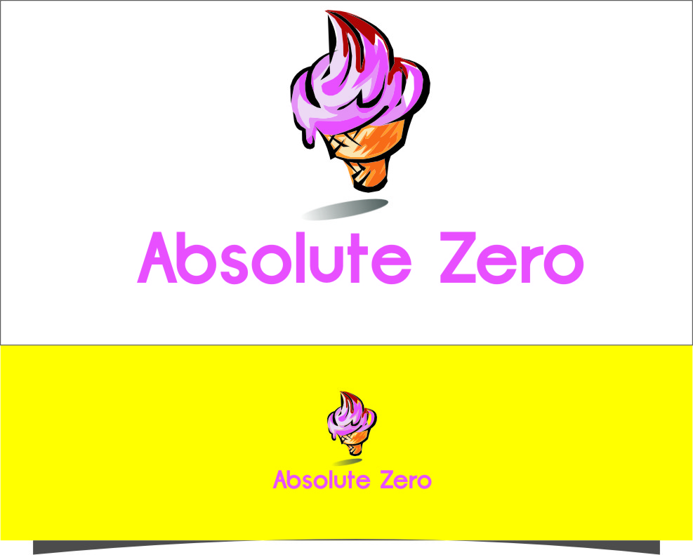 Logo Design by RasYa Muhammad Athaya - Entry No. 29 in the Logo Design Contest Imaginative Logo Design for Absolute Zero.