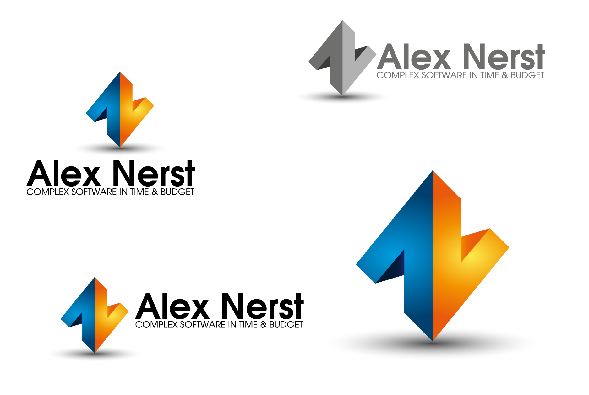 Logo Design by Private User - Entry No. 59 in the Logo Design Contest Artistic Logo Design for Alex Nerst.