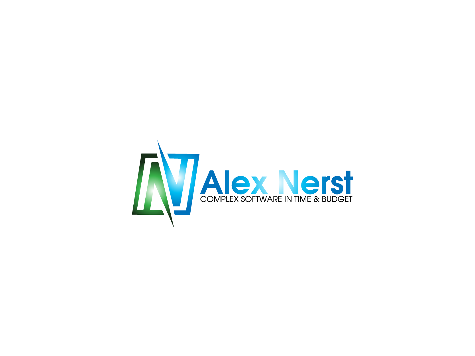 Logo Design by Private User - Entry No. 60 in the Logo Design Contest Artistic Logo Design for Alex Nerst.